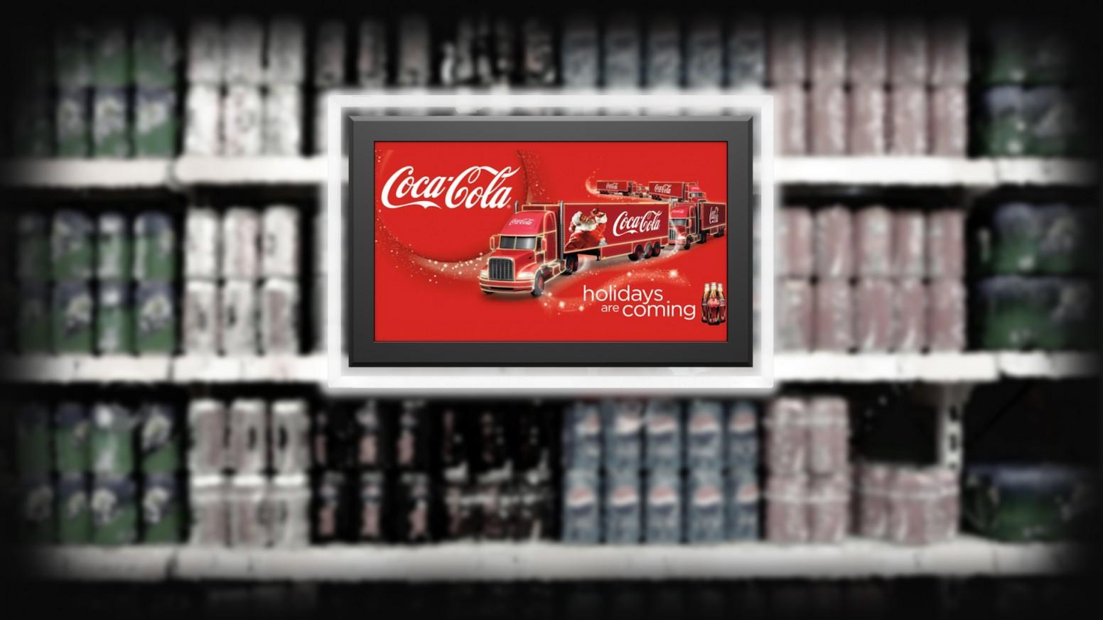 Рекламен екран Crystal LCD Display